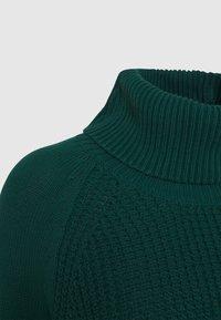 edc by Esprit - COWL NECK - Jumper - dark teal green - 2