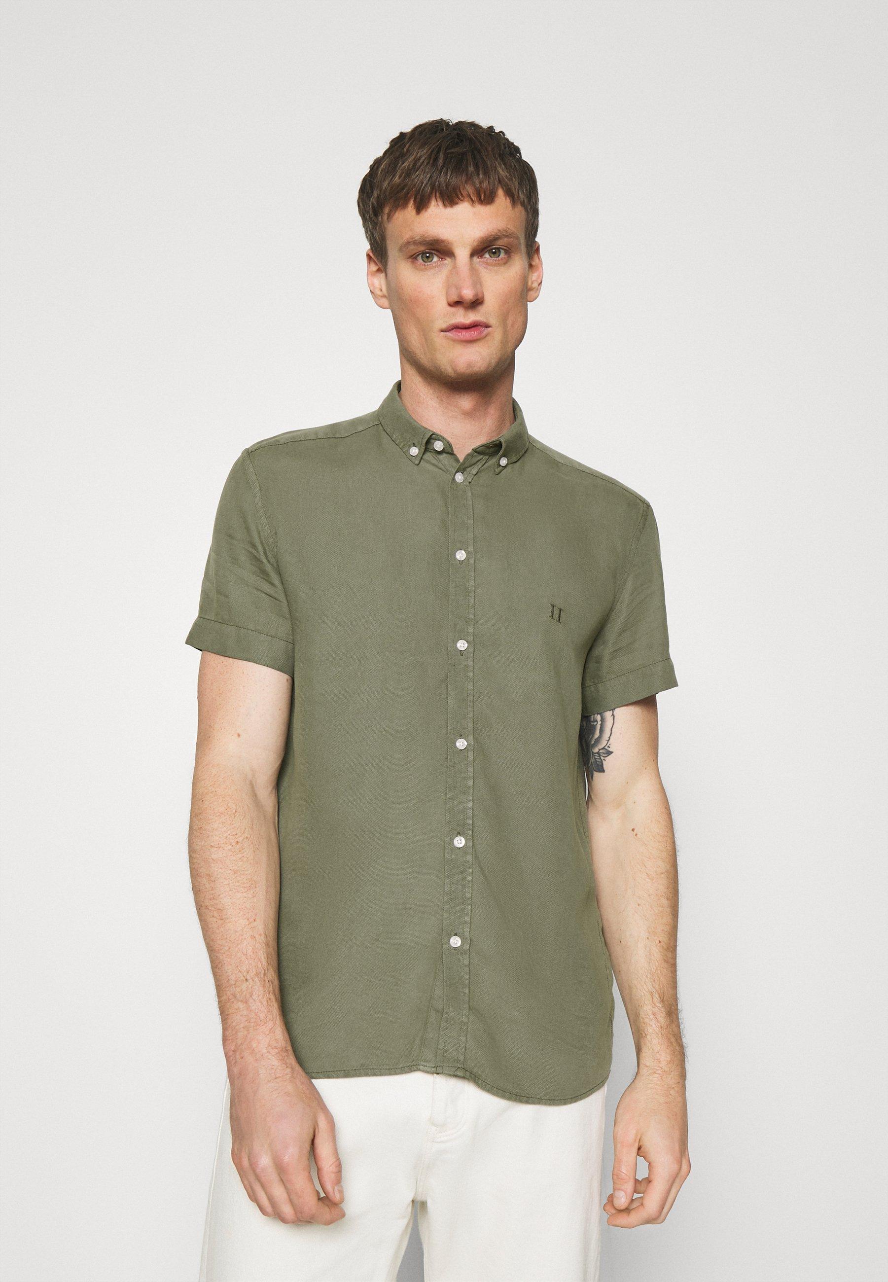 Uomo HARVEY DOBBY SHIRT - Camicia