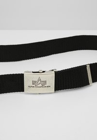 Alpha Industries - HEAVY DUTY BELT - Cintura - black - 5
