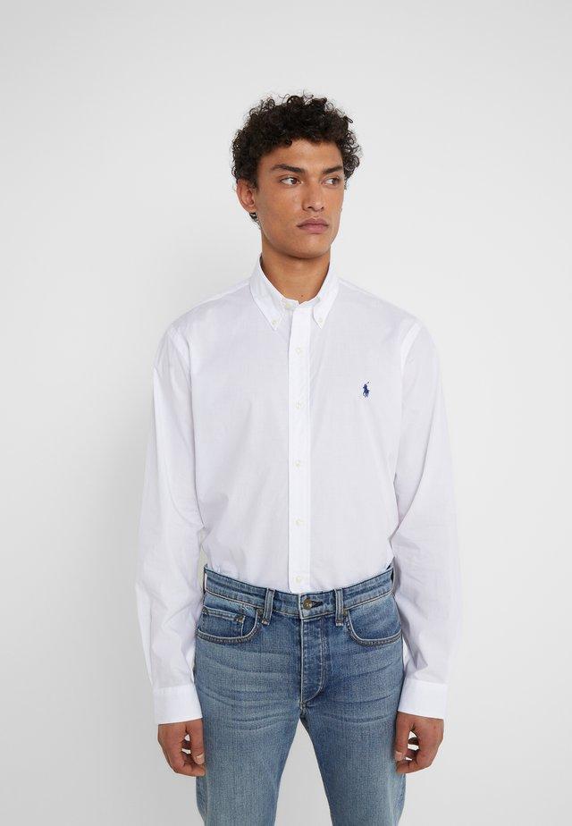 CUSTOM FIT - Camicia - white