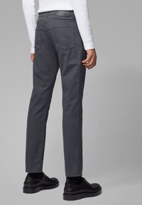 BOSS - MAINE - Straight leg jeans - grey - 2