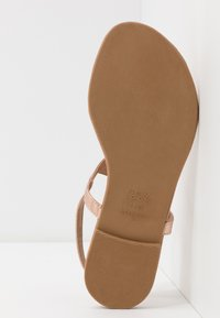 New Look - HOOPER - Flip Flops - rose gold - 4