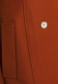 AKNVAS - MONA - Classic coat - rust - 9