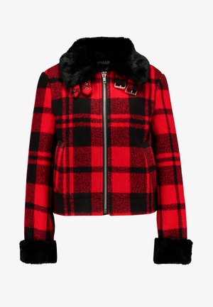 LADIES PLAID JACKET - Lett jakke - red/black