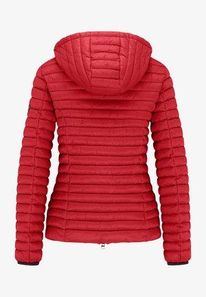 ALL-SEASON-STEPPJACKE FRIDAY V MIT TAILLIERTER PASSFORM - Down jacket - cherry red