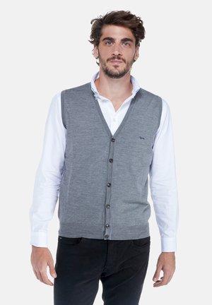 Waistcoat - grigio scuro screziato