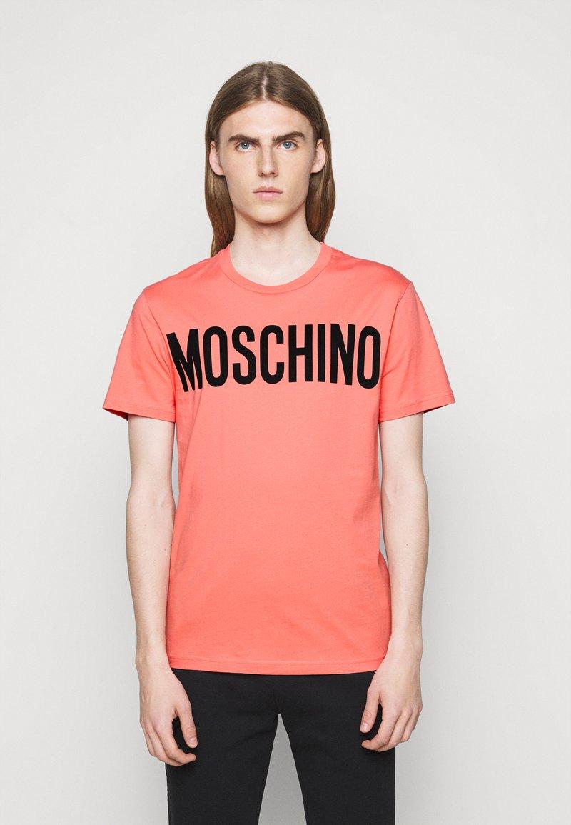 MOSCHINO - Print T-shirt - pink