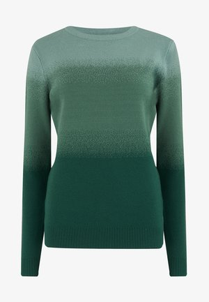 SUGARHILL BRIGHTON BECKA FOREST OMBRE - Jumper - green