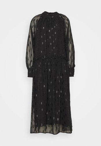 LCAGAFIA DRESS - Cocktail dress / Party dress - pitch black