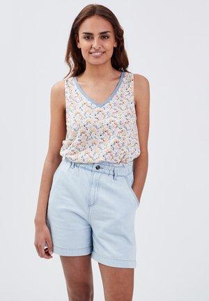 Camiseta estampada - blanc