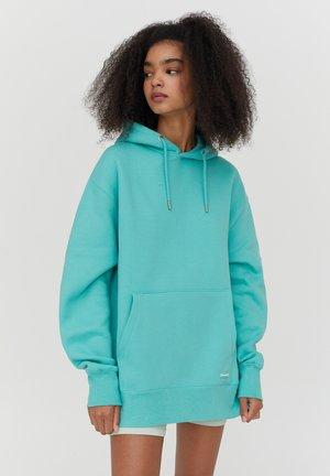 Bluza z kapturem - neon green