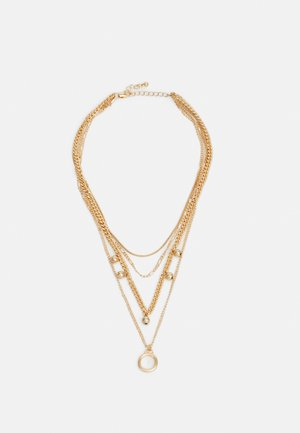 PCBLUMA COMBI NEKLACE - Smykke - gold-coloured