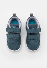 adidas Performance - TENSAUR UNISEX - Sports shoes - legacy blue/footwear white/glory grey - 3