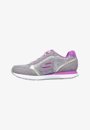 Trainers - pink/silver