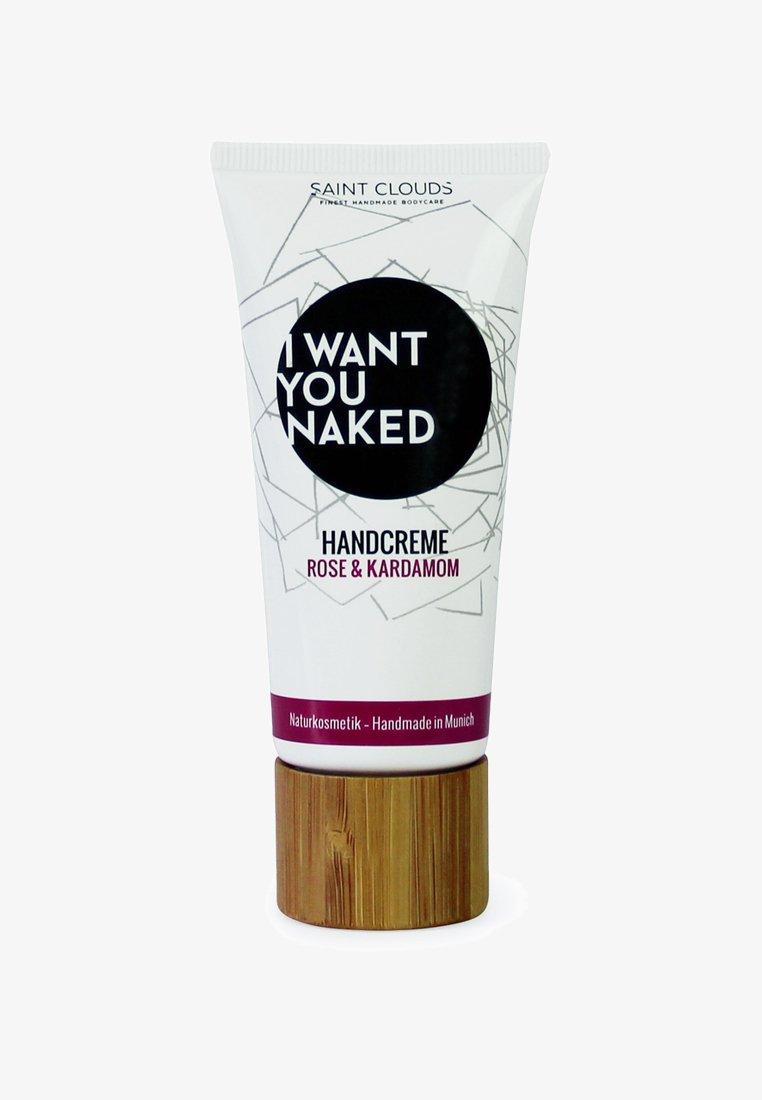 I WANT YOU NAKED - HAND CREAM 60ML - Hand cream - rose & kardamom