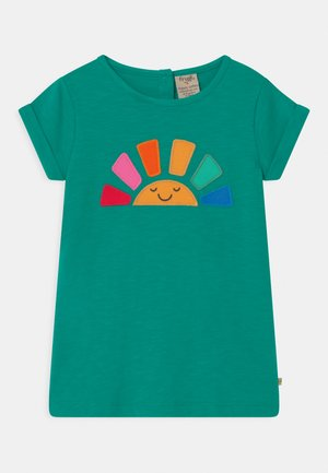 LIZZIE APPLIQUE - T-shirt print - jewel (slub)/rainbow