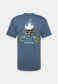 HUF - Print T-shirt - slate - 1