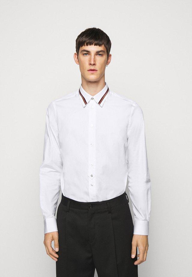 GENTS SLIM - Camicia - white