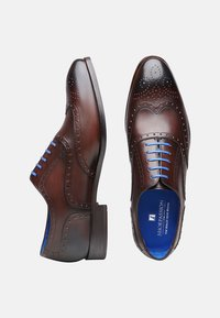 SHOEPASSION - NO. 5570 BL - Smart lace-ups - dark brown - 1