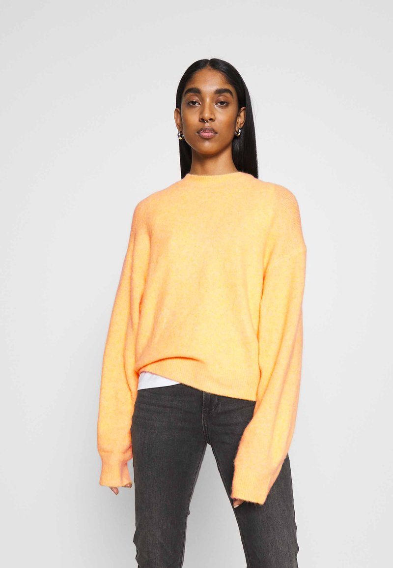 Weekday - AGGIE  - Sweter - orange
