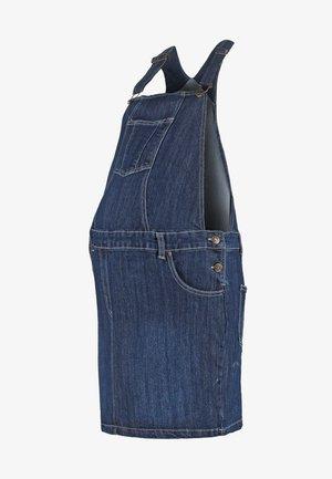 DUNGAREE  SKIRT - Sukienka jeansowa - indigo