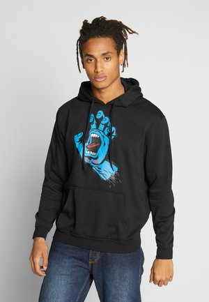 UNISEX SCREAMING HAND HOODIE - Kapuzenpullover - black