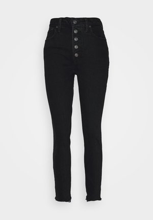 SHANK CURVE - Jeansy Skinny Fit - black