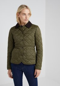 Barbour - DEVERON QUILT - Light jacket - olive/pale pink - 0