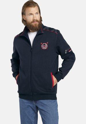 ATLI - Zip-up sweatshirt - dark blue