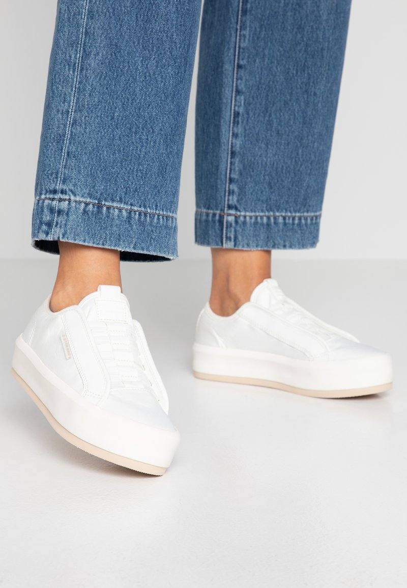 G-Star - STRETT LACE UP - Loafers - milk