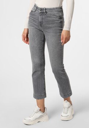SPEAK - Straight leg jeans - grau