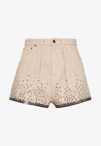 Alberta Ferretti - Denim shorts - beige - 4
