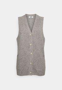 JDY - JDYHUDSON LIFE  - Waistcoat - mottled dark grey - 3