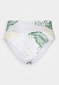Rip Curl - COASTAL PALMS ROLLUP GOOD - Bikini bottoms - white - 4