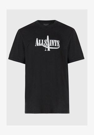 MOTO - Print T-shirt - black
