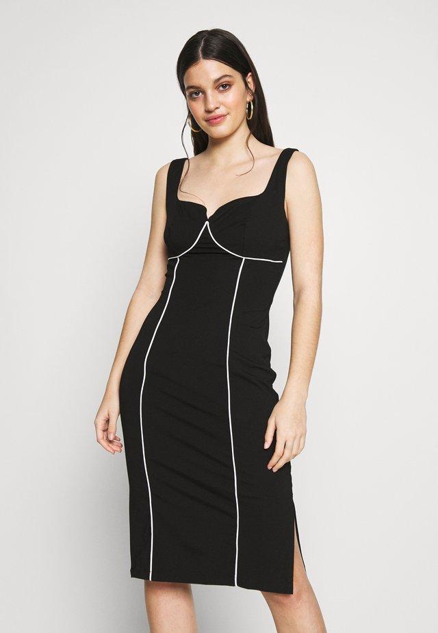 JADA - Shift dress - black structured