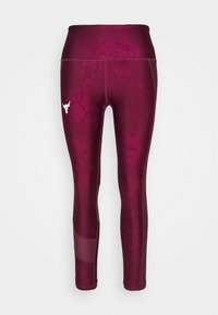 Under Armour - PROJECT ROCK ANKLE CROP - Leggings - level purple - 3
