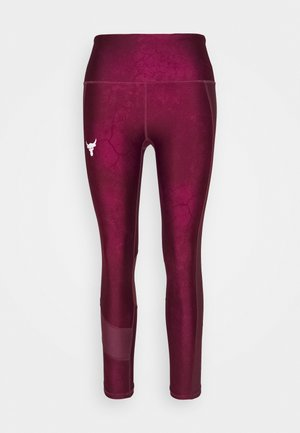 PROJECT ROCK ANKLE CROP - Tights - level purple