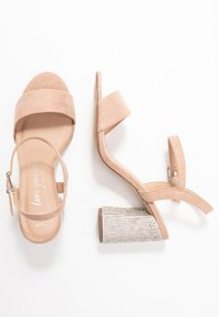 New Look Wide Fit - WIDE FIT TOYAL  - Sandali con tacco - oatmeal - 3