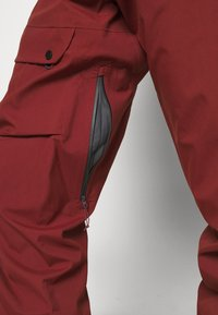 Salomon - OUTPEAK SHELL BIB PANT - Zimní kalhoty - madder brown/ebony - 4