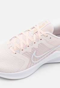 Nike Performance - DOWNSHIFTER 11 - Neutral running shoes - light soft pink/white/peach cream/venice/white - 5
