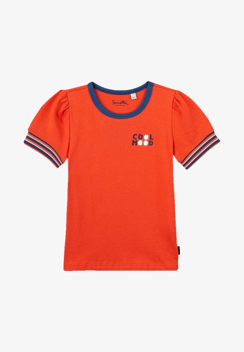 Sanetta Kidswear - Print T-shirt - red