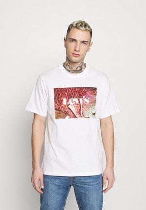 TEE UNISEX - T-shirt z nadrukiem - white