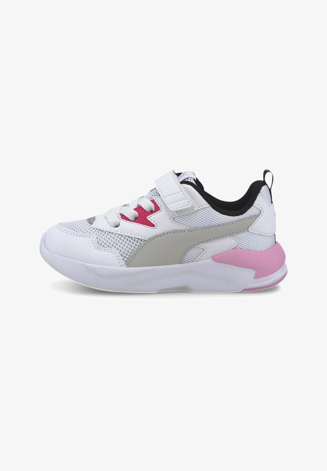 PUMA X-RAY LITE - Trainers - white-gray-pink-black-silver