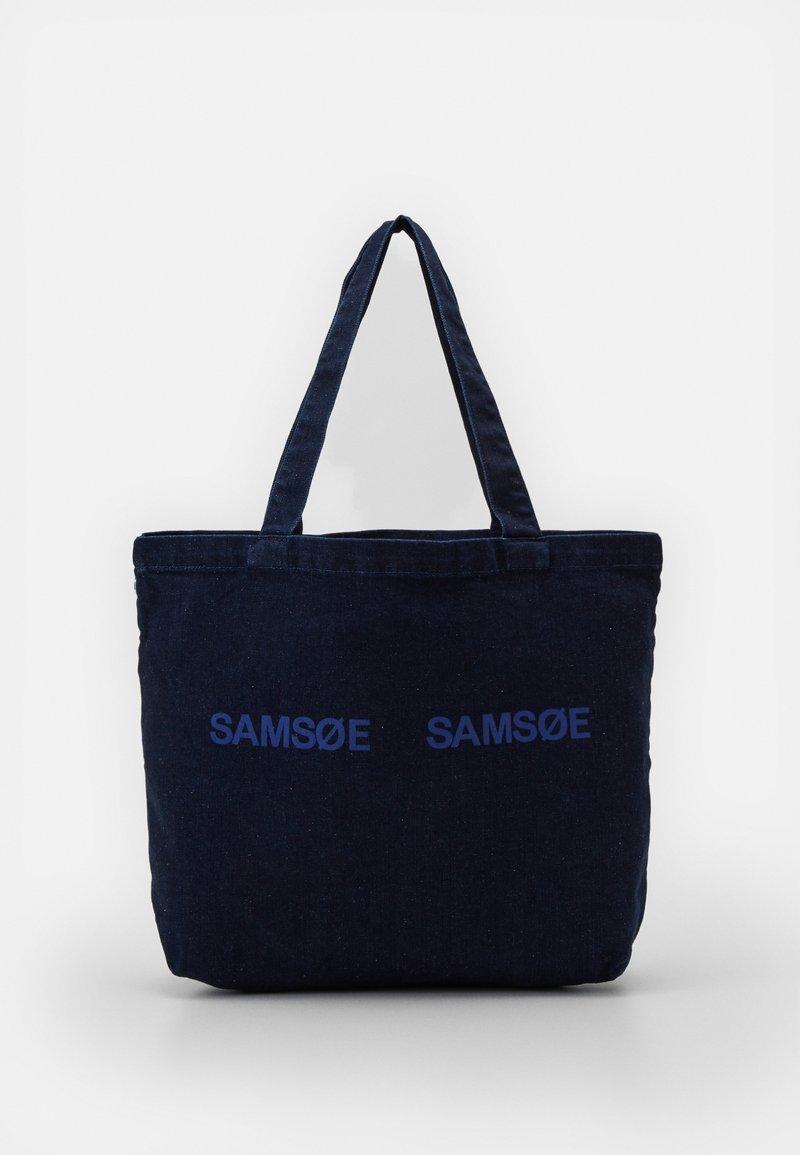 Samsøe Samsøe - FRINKA  - Tote bag - sky captain