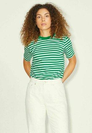 T-shirt print - white white