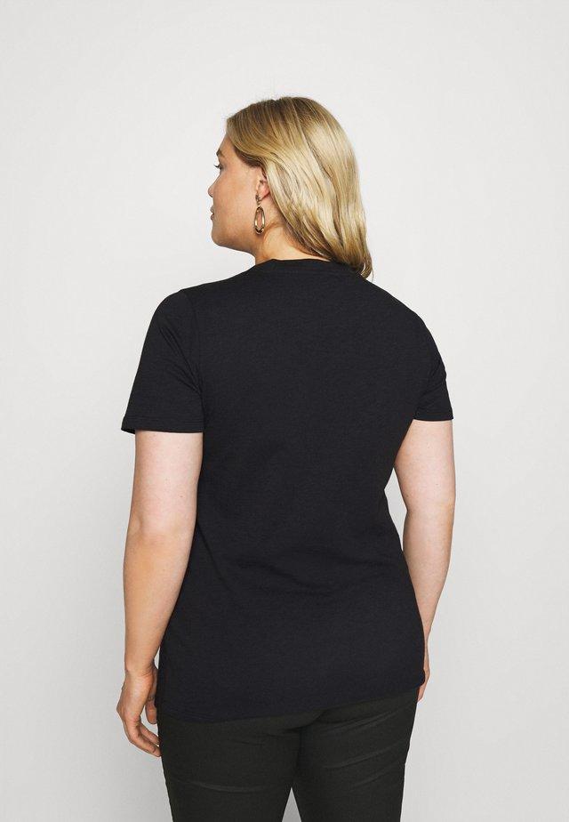 BILLA - Print T-shirt - black deep