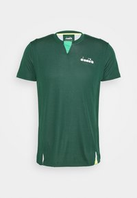 Diadora - EASY TENNIS - Camiseta estampada - green bistro - 0