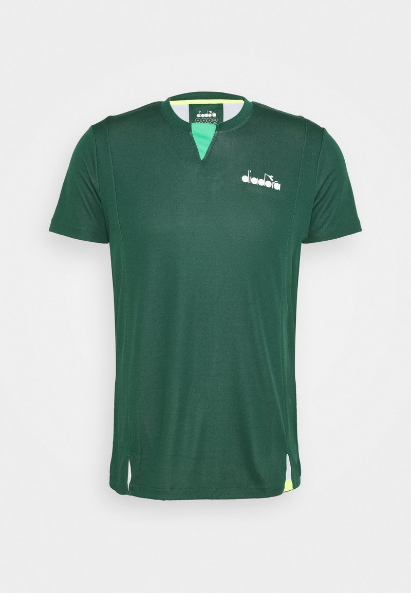 Diadora - EASY TENNIS - Camiseta estampada - green bistro