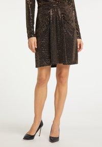 usha - A-line skirt - schwarz nude - 0